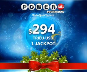 """Jackpot Powerball $294 triệu đô đã có chủ – Phép màu """"có thật"""" sau đêm Noel"""