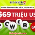 Hơn $2 triệu đô cho tấm vé đến từ California, Powerball lên mốc $69 triệu USD