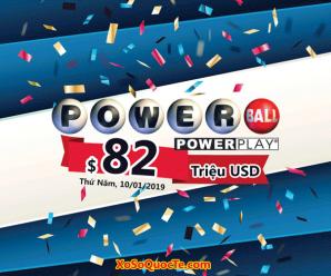 Ba triệu USD đã có chủ, Powerball đẩy giá trị giải thưởng lên $82 triệu USD