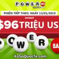 Hai người trở thành triệu phú; $96 triệu đô-la từ xổ số Powerball đang đợi chủ