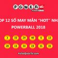 Top 12 số may mắn HOT nhất giải xổ số Powerball trong năm 2018