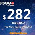 Kết quả xổ số Powerball ngày 17/02/2019: 2 người trúng giải triệu đô