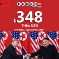 Cuộc gặp Trump-Kim kết thúc sớm, Jackpot Powerball vẫn thẳng tiến mốc $348 triệu USD