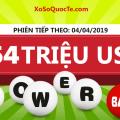 Kết quả xổ số Powerball ngày 31-03-2019: Jackpot ở mức $54 triệu USD