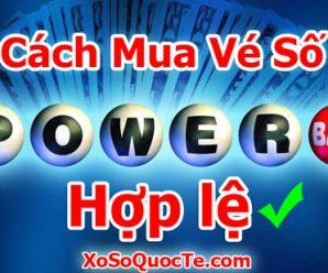 Cách Mua Vé Số Powerball Hợp Lệ tại Việt Nam dùng thẻ Visa Debit