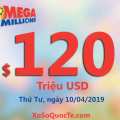 Tiến tới mức $120 triệu USD: xổ số Mega Millions trao 2 giải triệu đô