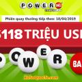 Xổ số Powerball theo sát Mega Millions với jackpot $118 triệu USD