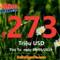 Xổ số Mega Millions tăng sức nóng với jackpot $273 triệu USD