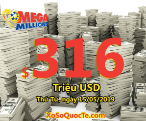 Một người Georgia trúng triệu đô; Mega Millions bứt phá với jackpot $316 triệu USD