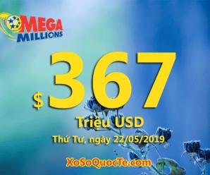 Ba người trúng giải Nhất; Jackpot Mega Millions tăng sức nóng khủng lên $367 triệu USD