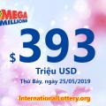 Cơn mưa giải triệu đô trong phiên quay thưởng Mega Millions ngày 22/05/2019