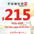 Ba triệu đô thuộc về 2 người may mắn; Jackpot Powerball hiện là $215 triệu USD