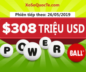 Tăng mức jackpot lên $308 triệu USD, Powerball theo sát Mega Millions