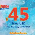 Một người trúng $3 triệu USD với Mega Millions phiên ngày 12/06/2019