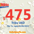 Giá trị tiếp tục được tích lũy: Jackpot Mega Millions ở mức $475 triệu USD