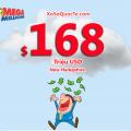 Jackpot $168 triệu đô-la của Mega Millions thuộc về người chơi New Hampshire