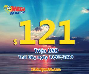 Một người trúng $2 triệu đô với xổ số tự chọn Mega Millions ngày 10/07/2019