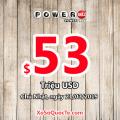 Kết quả xổ số tự chọn Powerball của Mỹ ngày quay thưởng 18/7/2019