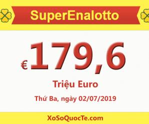 Xổ số SuperEnalotto vượt mốc cao nhất trong lịch sử lên €179,6 triệu Euro