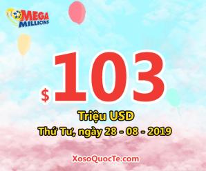 Jackpot của xổ số tự chọn Mega Millions đã tăng lên tới $103 triệu USD