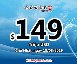 Jackpot $149 triệu USD của Powerball đang là mức thưởng xổ số lớn nhất thế giới