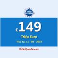 Euro Millions hiện vẫn là Jackpot lớn nhất thế giới €149 Triệu Euro