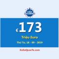 EuroMillions với jackpot lớn nhất thế giới €173 Triệu Euro – tương đương 4498 tỷ đồng