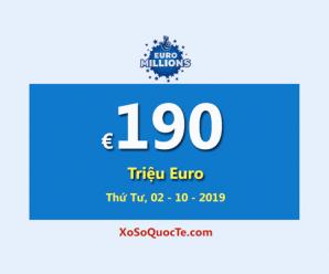 """Jackpot EuroMillions đã chạm mốc """"cực đại"""", €190 Triệu Euro đang đợi chủ"""