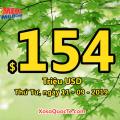 Jackpot Mega Millions lên mốc $154 triệu USD – ngày càng HOT hơn