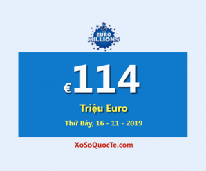 Năm người trúng giải Nhất, Euro Millions vẫn là Jackpot lớn thứ hai thế giới với €114 Triệu Euro