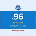 Euro Millions đang là Jackpot lớn thứ hai thế giới với €96 Triệu Euro