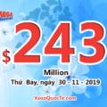 Xổ số Mega Millions tăng lên $243 triệu USD: Cách mua vé số Mega Millions ở Việt Nam
