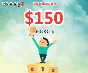 Jackpot $150 triệu USD của xổ số tự chọn Powerball đã có chủ