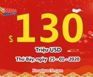 Xổ số Mega Millions tăng lên $130 triệu USD: Cách mua vé số Mega Millions ở Việt Nam