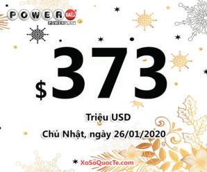 Hai người chơi may mắn trúng $1 triệu USD: Jackpot Powerball tiếp tục tăng