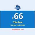 Euro Millions hiện đang dẫn đầu với Jackpot lớn nhất thế giới €66 Triệu Euro