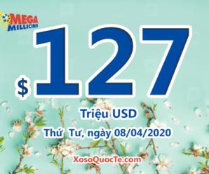 Xổ số Mega Millions của Mỹ tiếp tục quay; Jackpot lên $127 triệu đô-la
