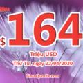 Một người chơi trúng $4 triệu đô-la với xổ số Mỹ Mega Millions ngày 18/04/2020
