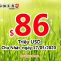 Kết quả xổ số Powerball ngày 14/05/2020: Có 1 người trúng 2 triệu đô
