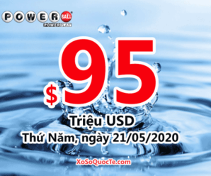 Kết quả xổ số Powerball ngày 17/05/2020: Có 1 người trúng giải triệu đô