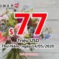 Kết quả xổ số Powerball ngày 10/05/2020: Có 1 người trúng 2 triệu đô