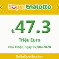 Jackpot chưa có chủ, xổ số Ý SuperEnalotto tăng lên tới 47.3 triệu Euro