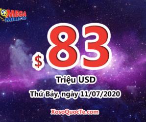 Jackpot xổ số Mega Millions lên mức $83 triệu đô-la cho phiên sắp tới 11/07/2020