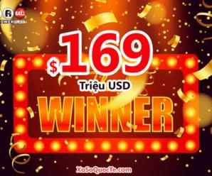 Jackpot thứ tư trị giá $169 triệu đô trong năm 2020 của Powerball đã có chủ
