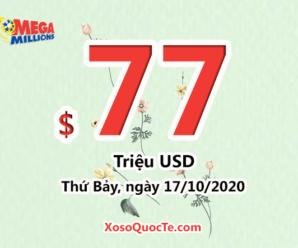 Xổ số Mega Millions tăng mạnh sức nóng với jackpot $77 triệu USD