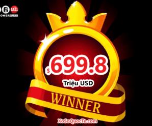 Jackpot Powerball có chủ – $699.8 triệu đô-la thuộc về người chơi đến từ bang California